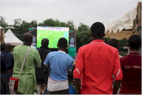 2019AFCON Viewing Center in Lagos