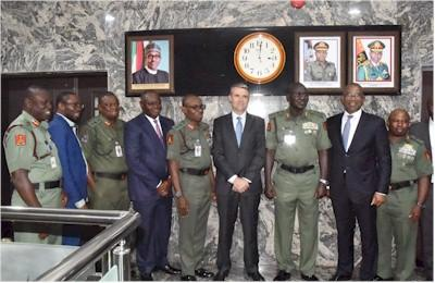 Group Photograph of Total delegation and Chief of Army Staff team