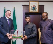 Pouyanne visit to Nigeria