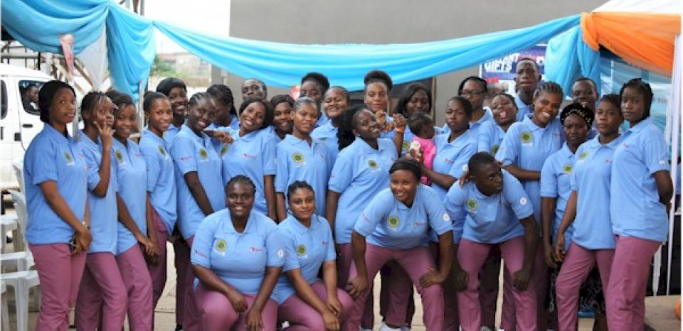 Students from School of Nursing